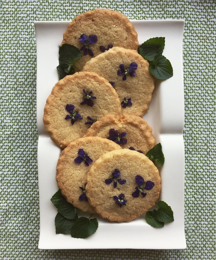 pansy cookies 2